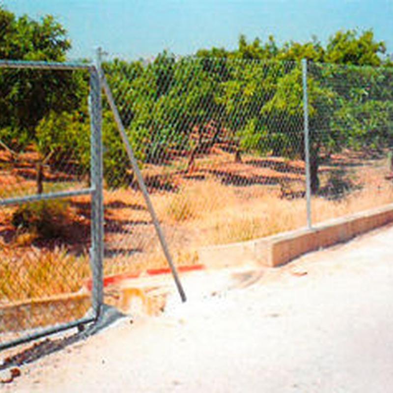 Vallados y Cercados: Invernaderos de Invernaderos Campos