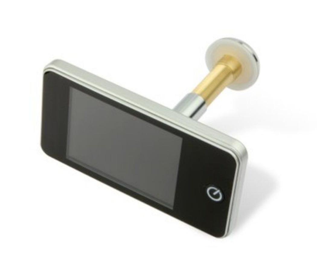Mejora la seguridad de casa con la mirilla electrónica