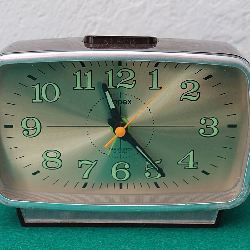 Reloj-Despertador Impex transistor:  de Ruzafa Vintage