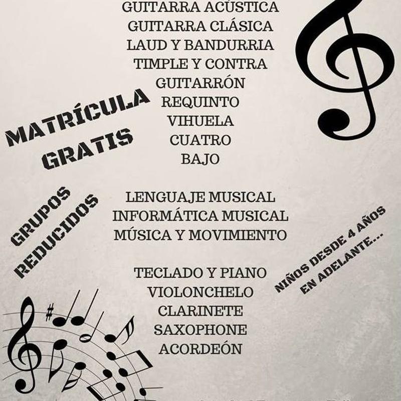 Escuela de Música: Espacio Cultural de Los Menceyatos