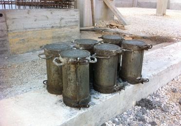 Ensayos de hormigón y cemento