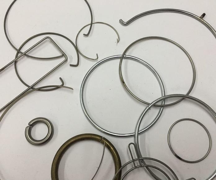 Aros de alambre: Productos de M. Navalon, S.C.P.