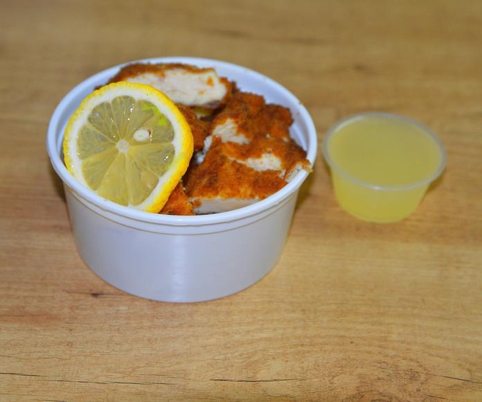 Pollo con Salsa Limón