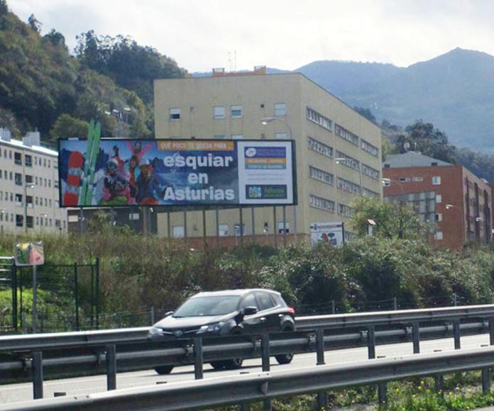 valla 12x3 mts. - Asturias