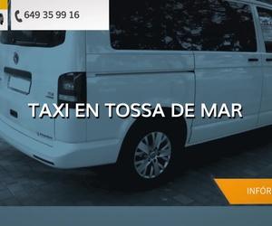 Taxis al aeropuerto desde Tossa de Mar | Taxi Juan Carlos