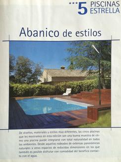 Revista Piscinas actualidad