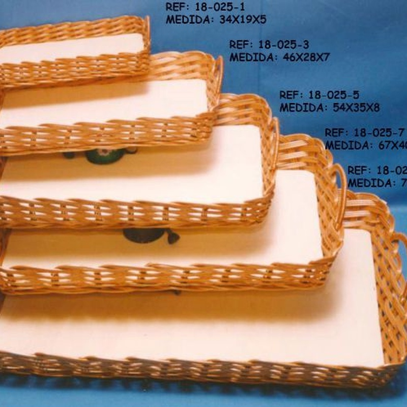 Bandejas: Productos y materias primas de Estilo 2 Bambú, S.L.