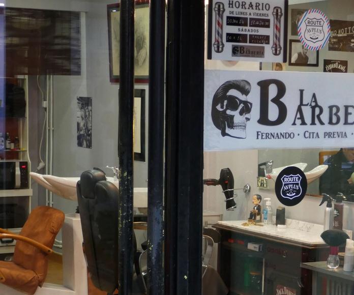La Barbería Baioni: Nuestros locales de Zoco Villalba