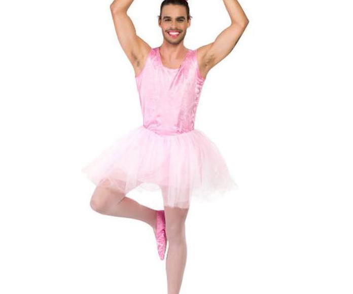 Disfraz bailarina hombre