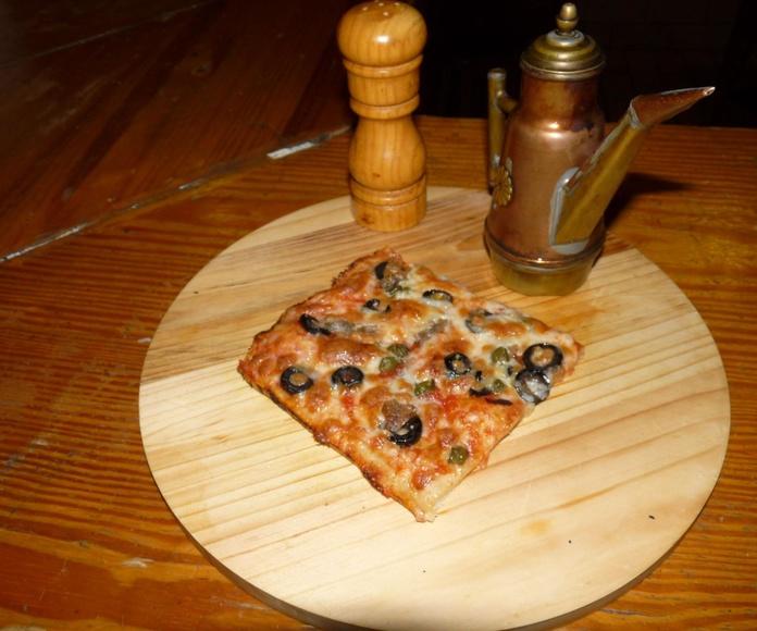 PIZZAS: Productos y especialidades de La Casa di Napoli
