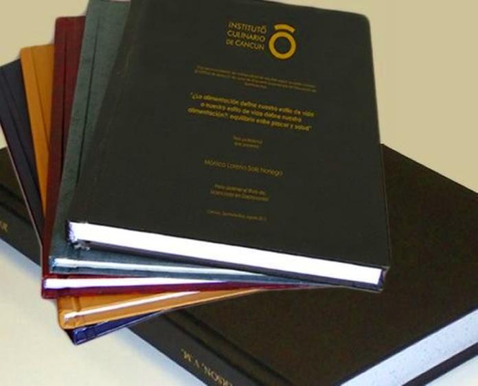 tesis doctorales encuadernacion Oviedo