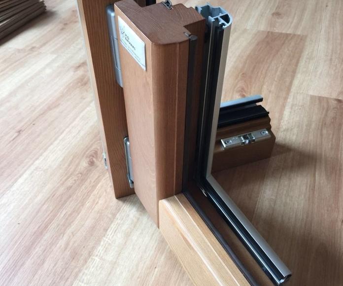 Ventanas aluminio madera