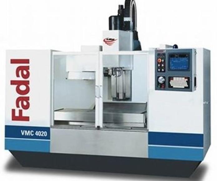 FADAL VMC4020: Maquinaria de Mecanizados Jasa