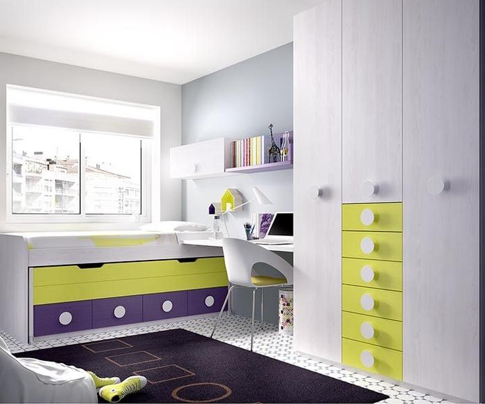 Dormitorios juveniles e infantiles: Catálogo de Muebles Tarazona