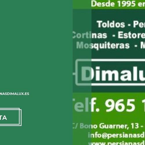 Montaje de toldos en Alicante: Toldos y Persianas Dimalux