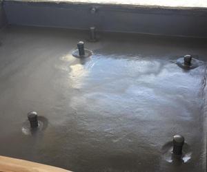 Impermeabilizacion de fuentes con poliurea pura