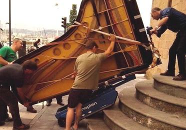Traslado y transporte de pianos