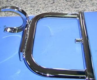 Restauración de coches: Servicios de Cromados Jaeván
