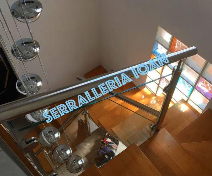 Escalera de Inox e Hierro
