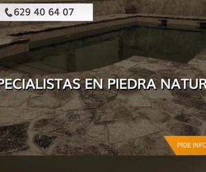 Construcción de piscinas en Madrid norte; Piedra Natural Madrid