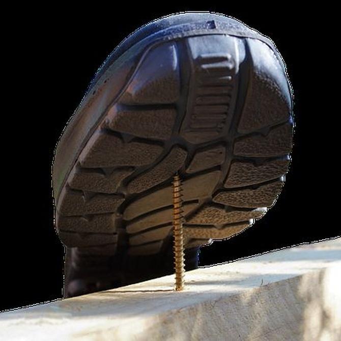 Los accidentes de los que te puede salvar el calzado de seguridad