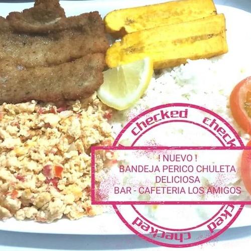 Comida latina en Arrecife | Bar Caferería Los Amigos