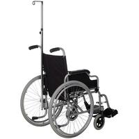 Porta suero para silla de ruedas