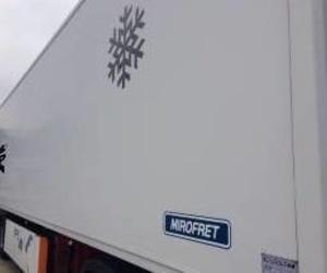 Semirremolque frigorífico Mirofret con equipo Carrier