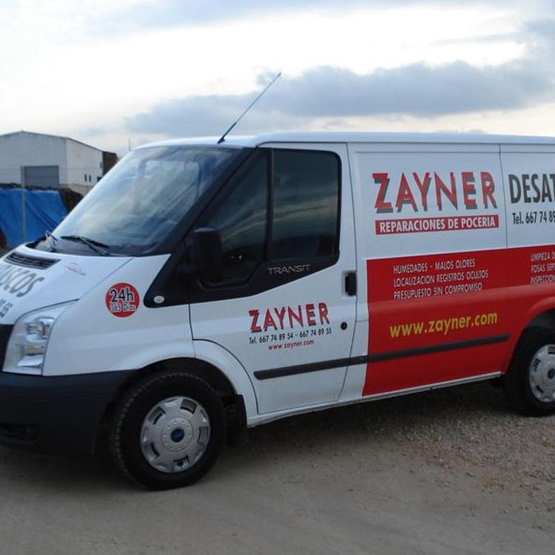Malos olores: Servicios  de Zayner
