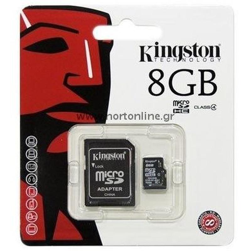 Kingston SDC4/8GB micro SD HC clase 4 8GB : Productos y Servicios de Stylepc