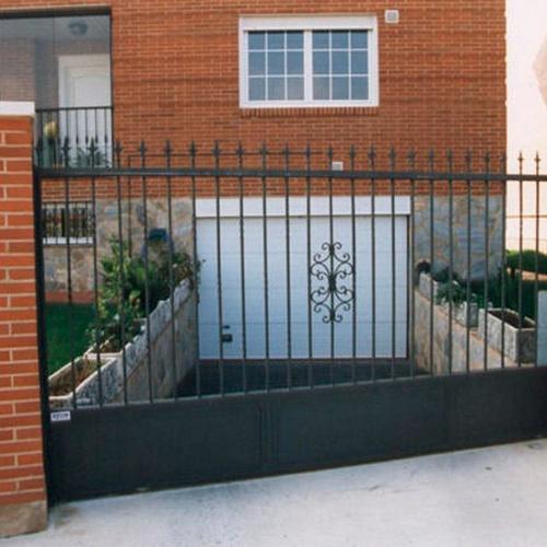 Puerta corredera y seccional