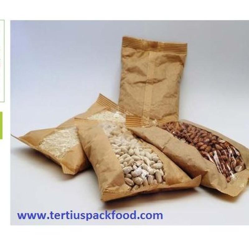Papel y polipropileno con atmósfera modificada: NUESTROS  ENVASADOS de Envasados de Alimentos Bio y Gourmet, S.L