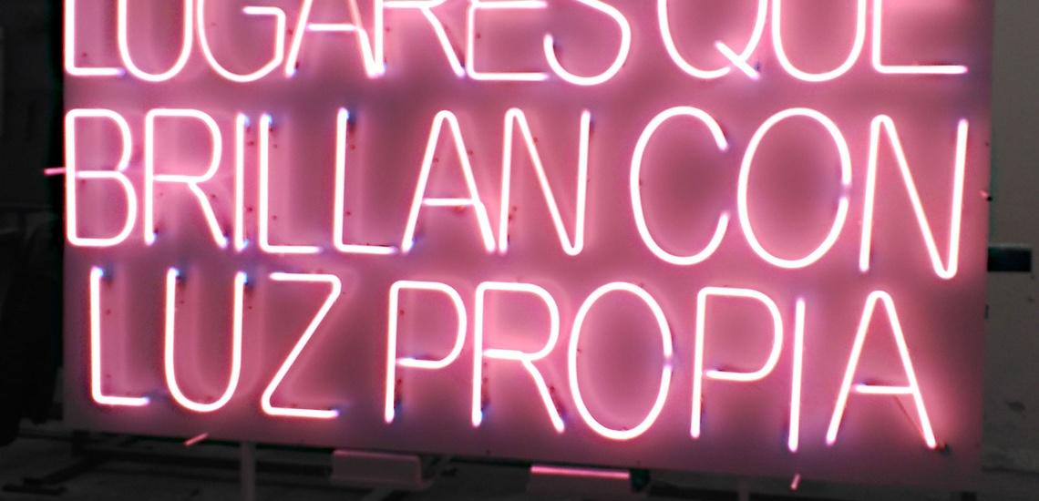Letras luminosas en Madrid centro económicas