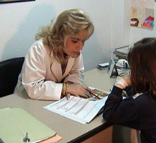 Explicaciones a paciente menor de edad
