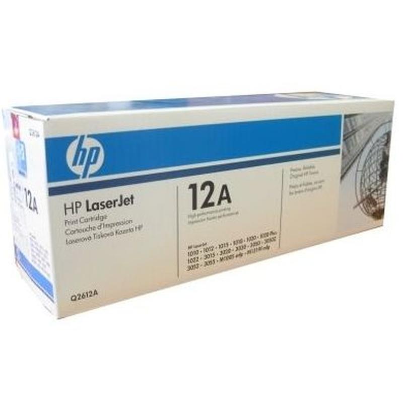 HP 12A (Q2612a) tóner Laserjet negro 2.000 pag: Productos y Servicios de Stylepc