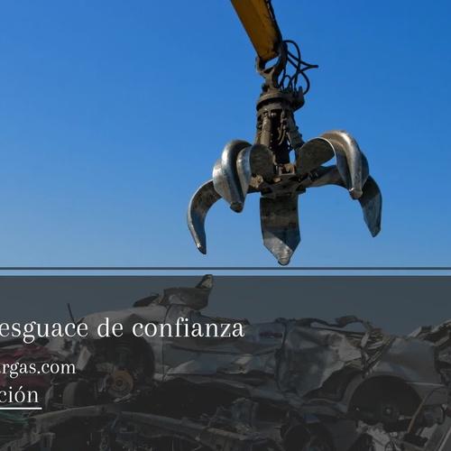 Desguace de vehículos en Málaga | Desguace Vargas