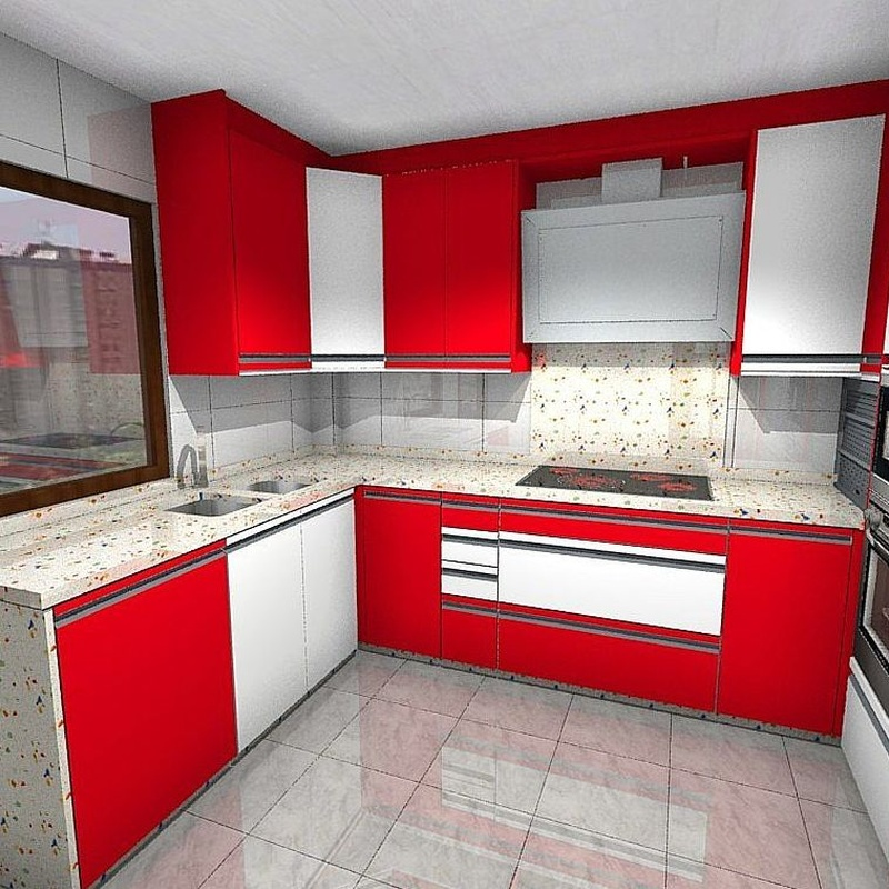 Cocinas 3-D: Catálogo de Carpintería Ferrándiz