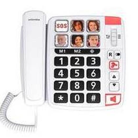Teléfono amplificado con fotos Gijón