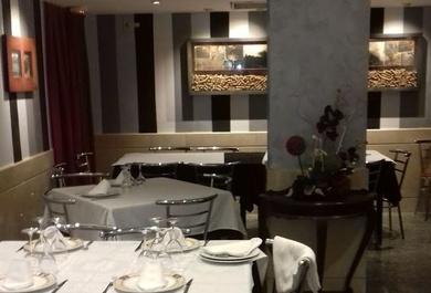 Restaurantes céntricos en Huesca.