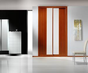 Armarios, puertas y suelos de madera
