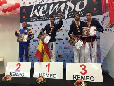 Ángel Ruiz Campeón Mundial de Kenpo 2015
