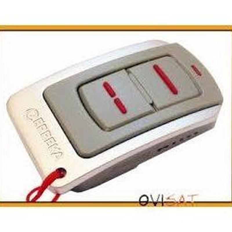 Mando Erreka Iris, 2-4 pulsadores, alta en garaje: Productos de Zapatería Ideal