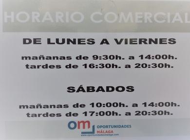 DESDE EL 1 DE OCTUBRE CAMBIAMOS AL HORARIO DE INVIERNO