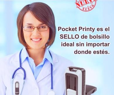 SELLO BOLSILLO  POCKET PRINTY DE TRODAT