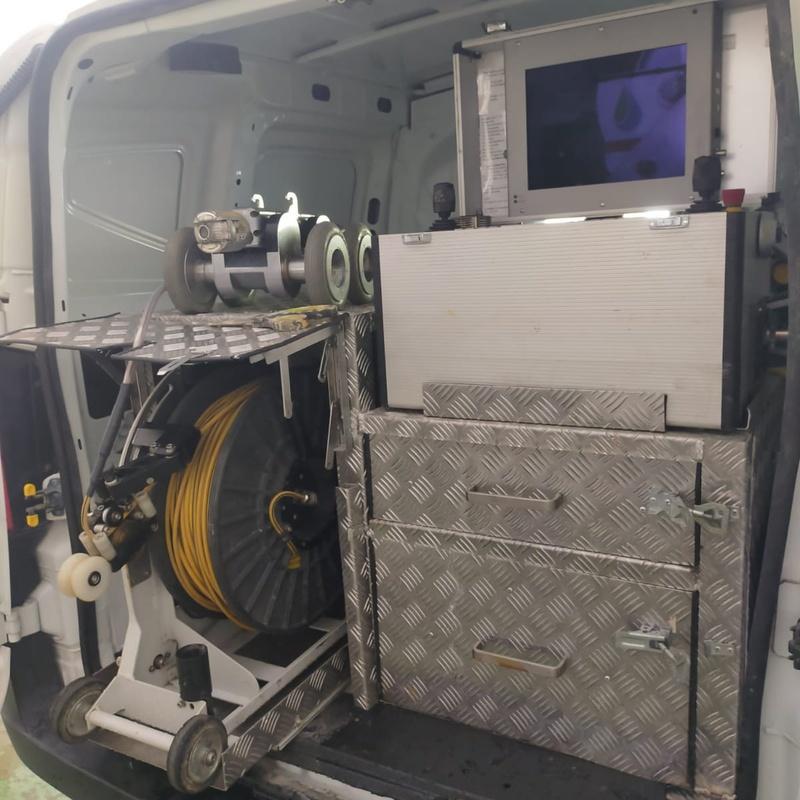 Inspecciones de tuberías con cámara robotizada: Servicios de Accesa Desatascos