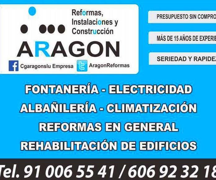 EL MARKET T3 REFORMA INTEGRAL: Trabajos realizados de REFORMAS, INSTALACIONES Y CONSTRUCCION ARAGON SLU