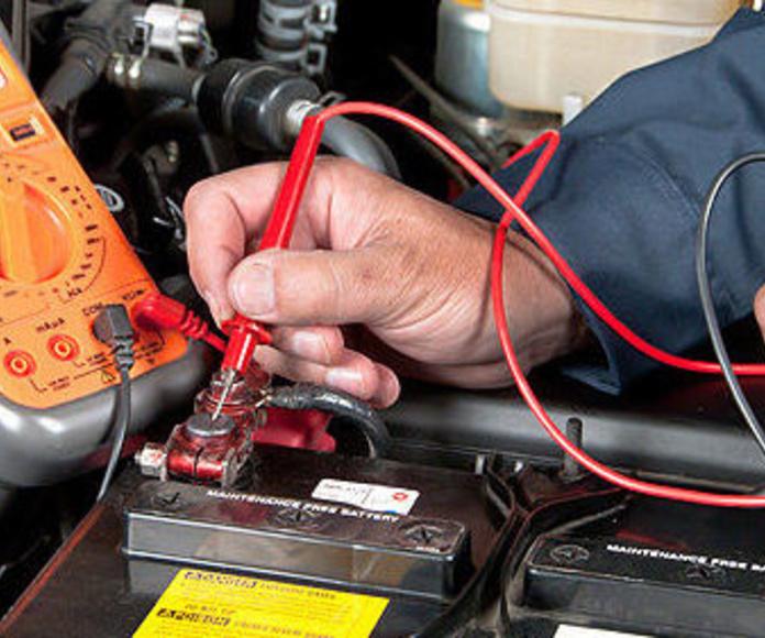 Electrónica del automóvil  : Servicios  de Talleres Repaut