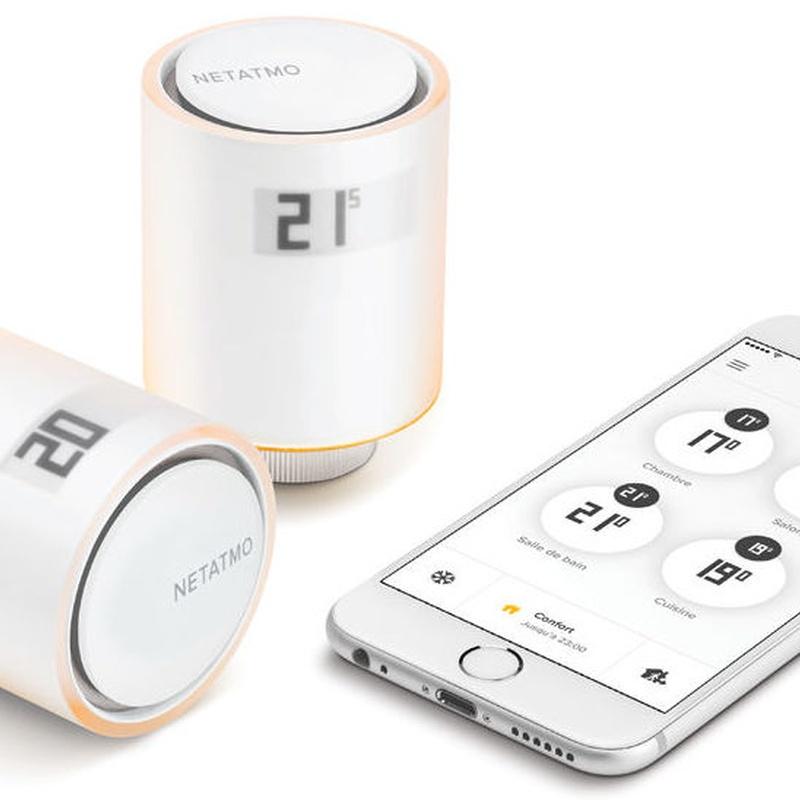 Válvulas termostáticas vía app
