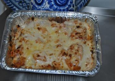 2 - Macarrones de carne gratinados con roquefort