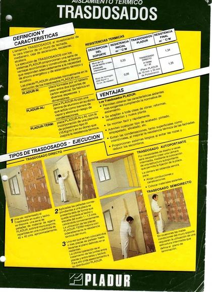 tratamiento humedades con placa PLADUR-TERM